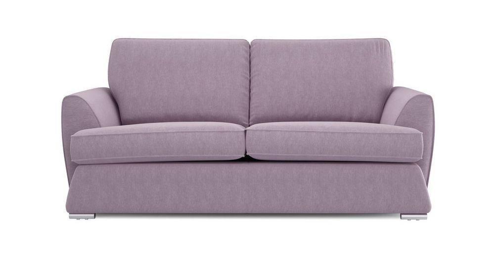 Dyani fabric sofa sets Fabric Sofas Sofa Set Online Bangalore Lilac 3 Seater