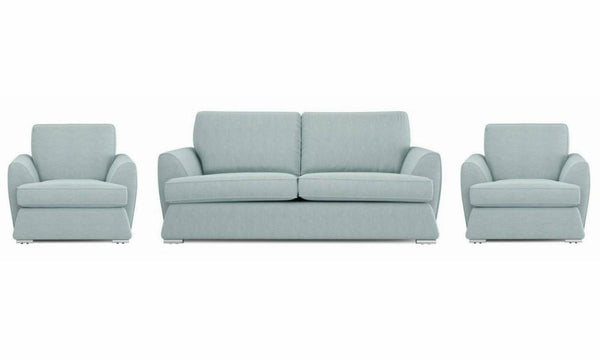 Dyani fabric sofa sets Fabric Sofas Sofa Set Online Bangalore Sky 3+1+1