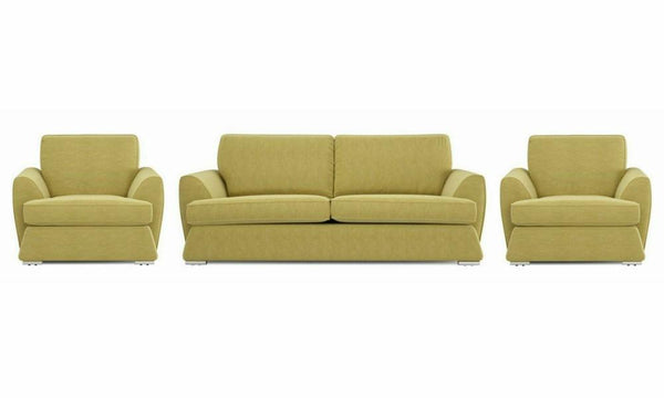 Dyani fabric sofa sets Fabric Sofas Sofa Set Online Bangalore YGreen 3+1+1