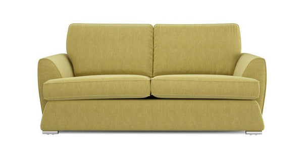 Dyani fresh green fabric sofas Fabric Sofas Sofa Set Online Bangalore 3 Seater