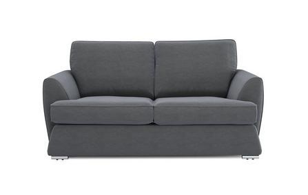 Dyani graphite color fabric sofa set Fabric Sofas Sofa Set Online Bangalore 3 Seater