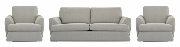 Dyani lemon shade fabric sofa set Fabric Sofas Sofa Set Online Bangalore
