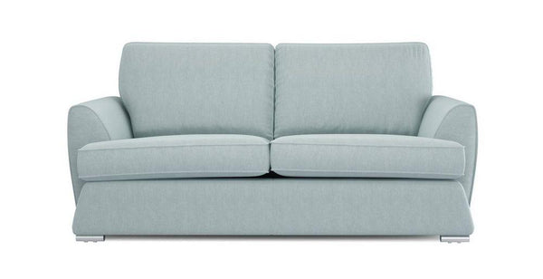 Dyani sky color fabric sofa sets Fabric Sofas Sofa Set Online Bangalore 3 Seater