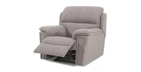 Ember grey color manual recliner Fabric Sofas Sofa Set Online Bangalore 1 Seater