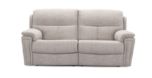 Ember in silver manual recliner Fabric Recliner Sofa Set Online Bangalore 3 Seater