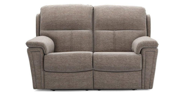 Ember taupe color manual fabric recliner Fabric Recliner Sofa Set Online Bangalore 2 Seater