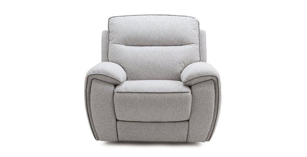 Empire fabric recliner Fabric Recliner Sofa Set Online Bangalore Silver 1 Seater