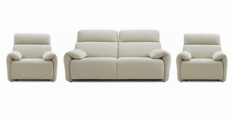 Ergo headrest fabric sofa set Fabric Sofas Sofas in Online Bangalore 3+1+1
