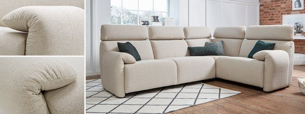 Ergo headrest fabric sofa set Fabric Sofas Sofas in Online Bangalore