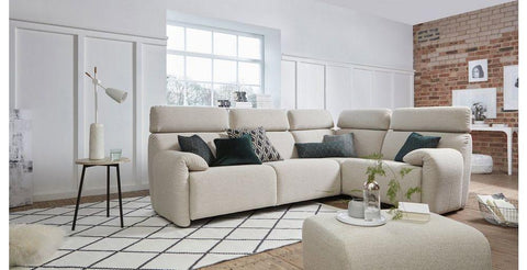 Ergo L shape with sofa Fabric Sofas Sofas in Online Bangalore