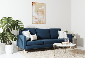 Fabric 3 seater metal sofas Metal Sofa Sofa Set Online Bangalore