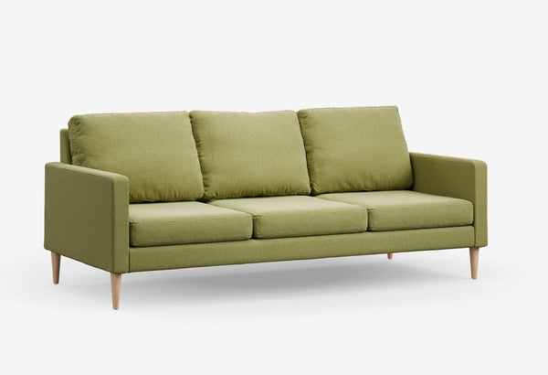 Fabric 3 seater metal sofas Metal Sofa Sofa Set Online Bangalore Sprouted Green Maple
