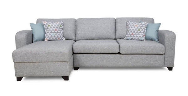 Fabric Combination L shape sofa Fabric Sofas Sofa Set Online Bangalore Silver L Shape right