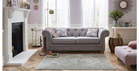 Fabric sofa three seater Fabric Sofas Sofa Set Online Bangalore