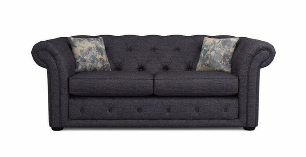 Fabric sofa three seater Fabric Sofas Sofa Set Online Bangalore Charcoal 2 Seater