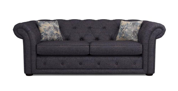 Fabric sofa three seater Fabric Sofas Sofa Set Online Bangalore Charcoal 3 Seater