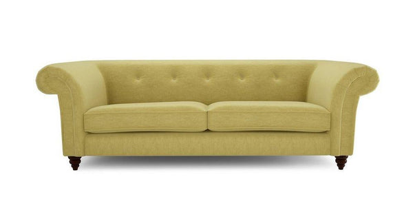 Green cheap fabric sofa Fabric Sofas Sofa Set Online Bangalore 4 Seater