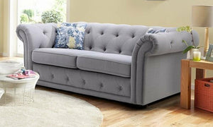 Grey colour fabric sofa sets Fabric Sofas Sofas in Online Bangalore
