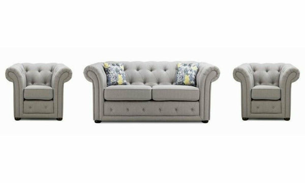 Grey colour fabric sofa sets Fabric Sofas Sofas in Online Bangalore Fab 3+1+1