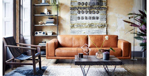 Hackney art leather sofa set Leather Sofa Sofa Set Online Bangalore
