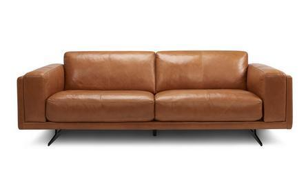Hackney art leather sofa set Leather Sofa Sofa Set Online Bangalore Brown 3 Seater