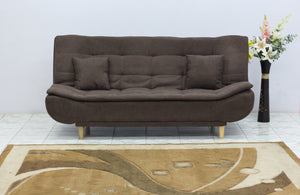 Jermine 3 Seater sofa cum bed Fabric Sofa cum Bed Sofa Set Online Bangalore lbrown