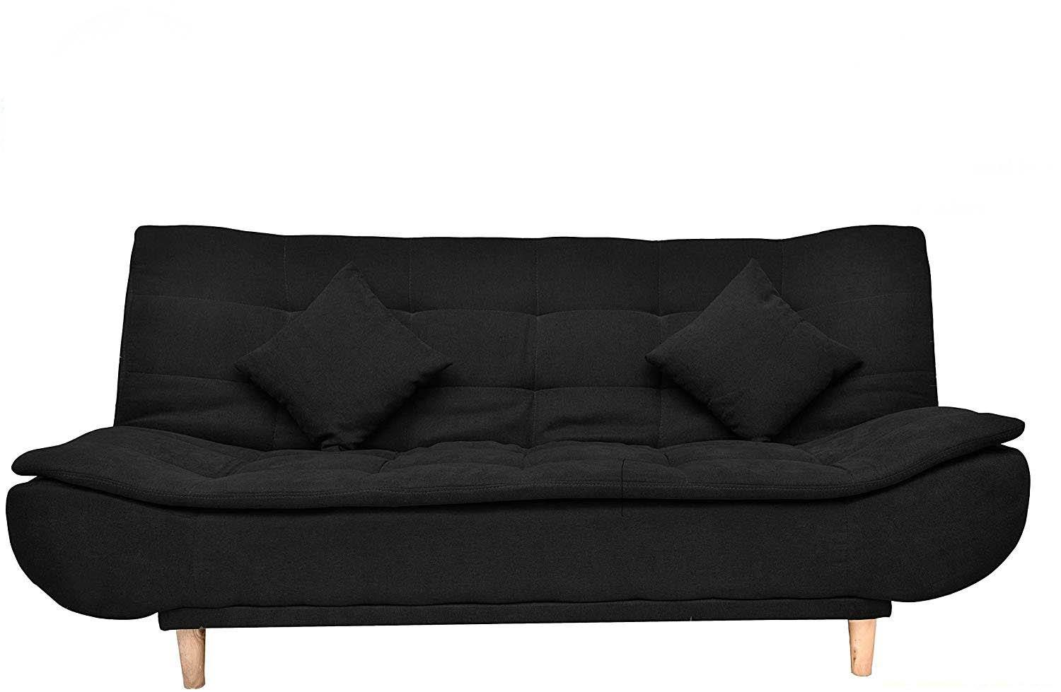 Jermine-Black Sofacum Bed Yellowliving Online Bangalore