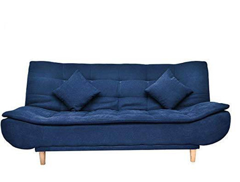 Jermine-Blue Sofacum Bed Yellowliving Online Bangalore
