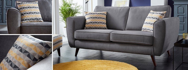 Koby fabric sofa set Fabric Sofas Sofa Set Online Bangalore