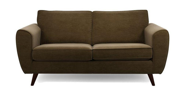 Koby fabric sofa set Fabric Sofas Sofa Set Online Bangalore Chocolate 3 Seater