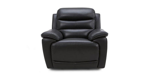 Landos manual recliner Leather Recliner Sofa Set Online Bangalore Black 1 Seater
