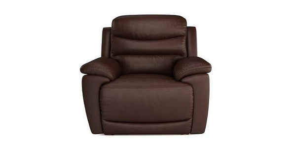 Landos manual recliner Leather Recliner Sofa Set Online Bangalore DMaroon 1 Seater