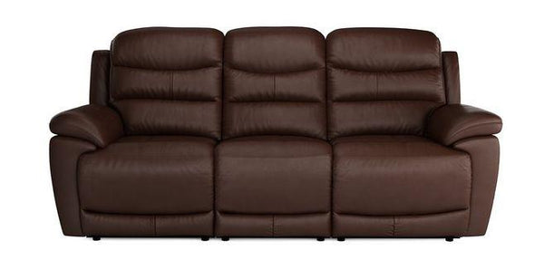 Landos manual recliner Leather Recliner Sofa Set Online Bangalore DMaroon 3 Seater