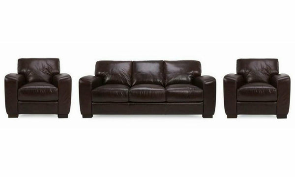 3+1+1 seater Leather Sofa -www.yellowliving.in Manufacturers in Bangalore