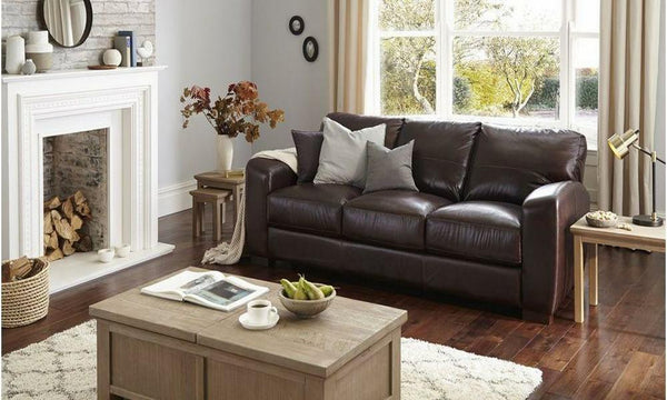Laurant in barolo art leather sofa Leather Sofa Sofa Set Online Bangalore