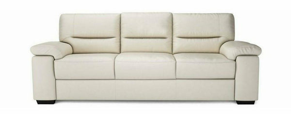 Mellow genuine leather sofa set Genuine Leather Sofa Sofa Set Online Bangalore Cream 3 Seater
