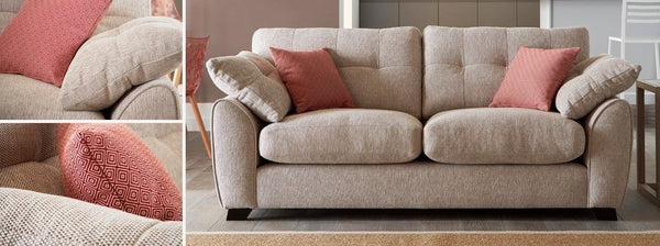 Morton fabric sofa set Fabric Sofas Sofa Set Online Bangalore
