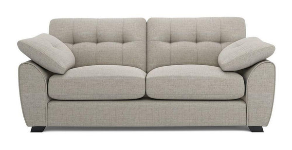 Morton fabric sofa set Fabric Sofas Sofa Set Online Bangalore Almond 3 Seater