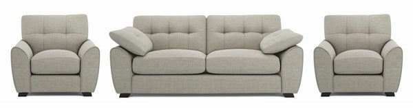 Morton fabric sofa set Fabric Sofas Sofa Set Online Bangalore Almond 3+1+1