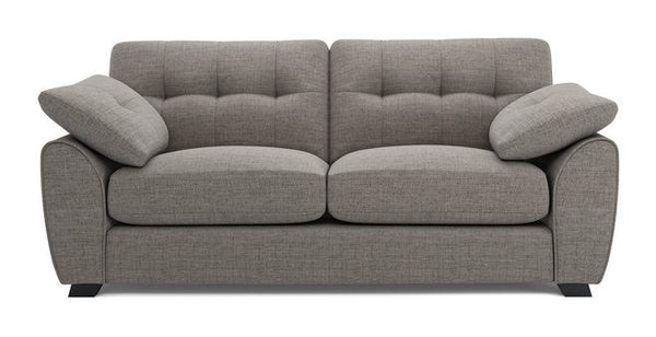 Morton fabric sofa set Fabric Sofas Sofa Set Online Bangalore Grey Ash 3 Seater