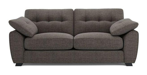 Morton fabric sofa set Fabric Sofas Sofa Set Online Bangalore LBrown 3 Seater