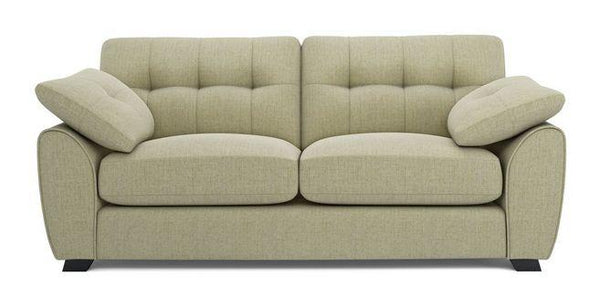 Morton fabric sofa set Fabric Sofas Sofa Set Online Bangalore Lite Green 3 Seater