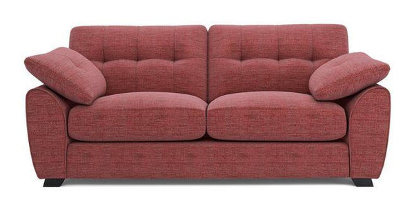 Morton fabric sofa set Fabric Sofas Sofa Set Online Bangalore LRed 3 Seater
