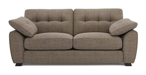 Morton fabric sofa set Fabric Sofas Sofa Set Online Bangalore Mocha 3 Seater