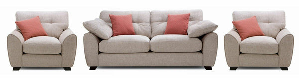 Morton fabric sofa set Fabric Sofas Sofa Set Online Bangalore Sand 3+1+1