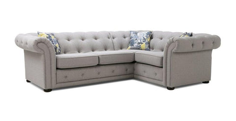 Opera ash natural corner L shape sofa Fabric Sofas Sofa Set Online Bangalore L Shape
