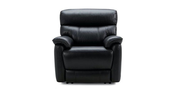 Pryme manual recliner Leather Recliner Sofa Set Online Bangalore Black 1 Seater