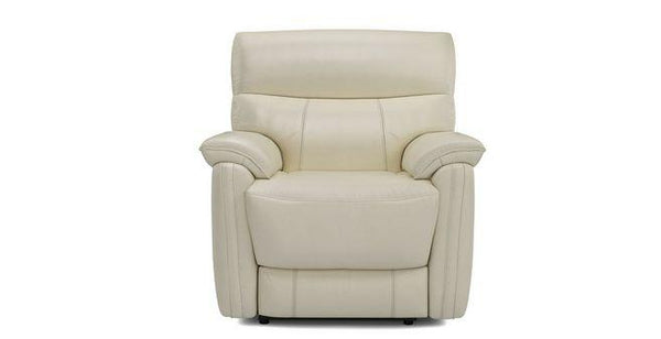 Pryme manual recliner Leather Recliner Sofa Set Online Bangalore Cream 1 Seater