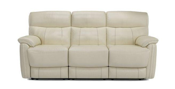 Pryme manual recliner Leather Recliner Sofa Set Online Bangalore Cream 3 Seater