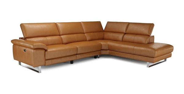 Salone L Shape 5 Seater Genuine Leather Recliner Genuine Leather Recliner Sofa Set Online Bangalore L Shape Brown
